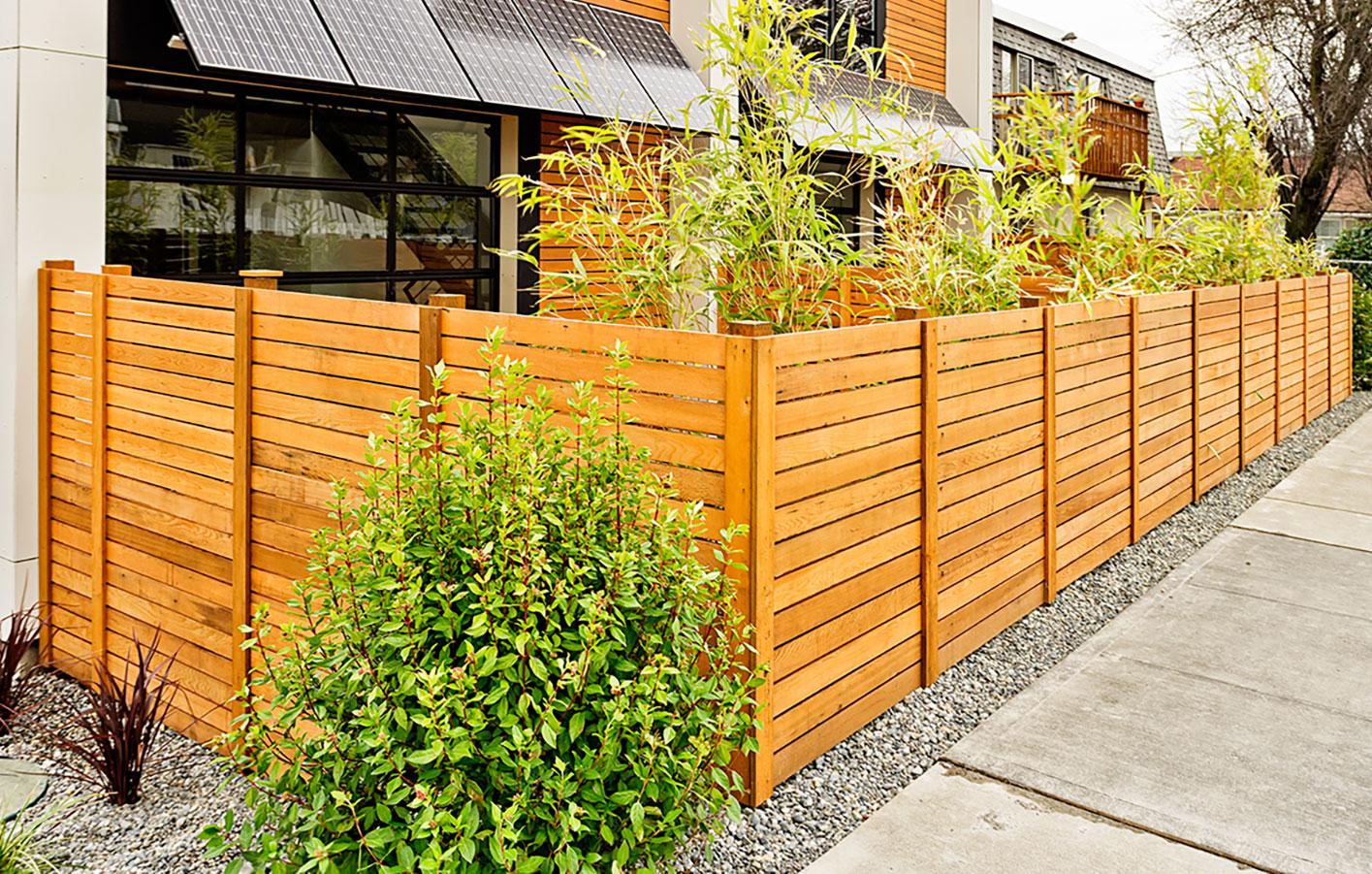 Zaune Sichtschutz Gartenzaun Holzzaun Mainz Wiesbaden Alzey Bingen